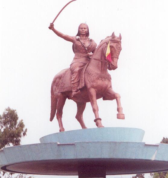 horse name of jhansi ki rani